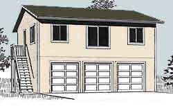 Ezgaragegambrel for 32x40 garage plans